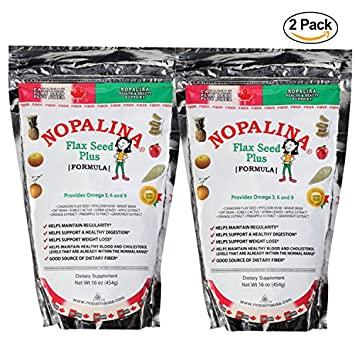 2 Pack Nopalina 16oz Omega 3 6 9 Cleanse Detox Supplement