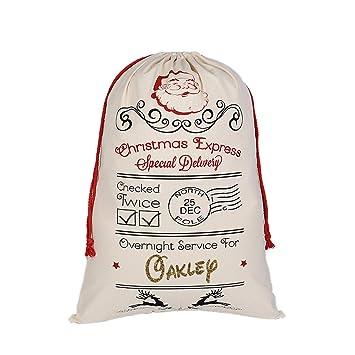 Amazon.com: AOLOSHOW - Bolsa de algodón con cordón para ...