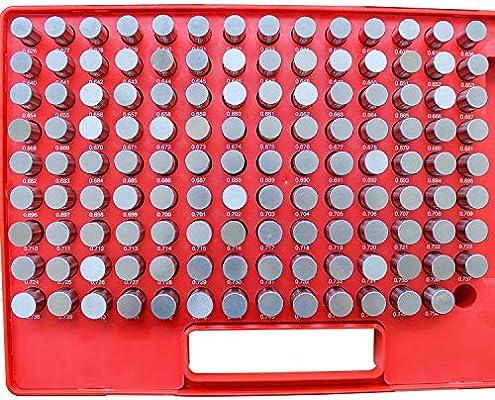 "50 Gages MC-0-M .011-.060/"" by .001/"" Minus Tolerance Pin Gage Set"