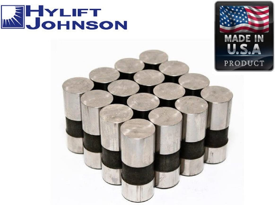 16 Non Roller 7.794 over all Lgth Chevy GM SBC V8 305 350 Push Rods Pushrods Lifters Kit set of