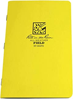 product image for All Weather Stapled Notebook, Field, PK3