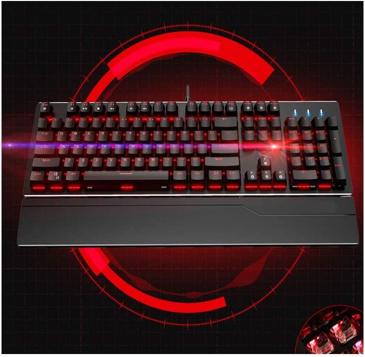 Color : Purple 3 Durable Black 2, 45 23 6cm Aishanghuayi Keyboard Light Pomelo Mechanical Ergonomic Design Waterproof and Backlit USB Style Computer Keyboard