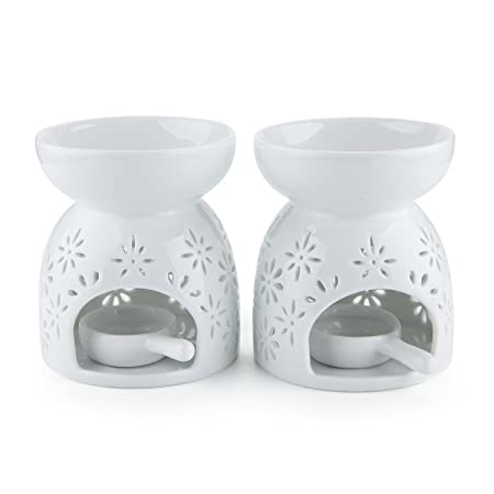 Mucihom ceramic glazed oil burner for essential oil white tea light mucihom ceramic glazed oil burner for essential oil white tea light holder aroma lamp diffuser mightylinksfo