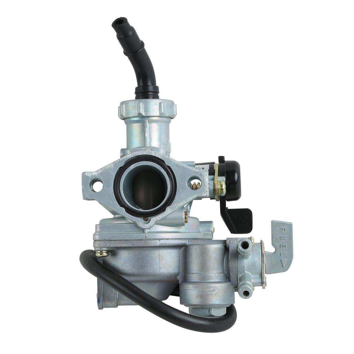 XMT-MOTO Replacement Carburetor Carb For HONDA ALL-TERRAIN VEHICLE (ATV) TRX 125 FOURTRAX 1985-1986(Replaces:16100-459-024, 16100-459-771, 16100-459-772,16101-459-P00, 16100-459-712, 16100-459-713)