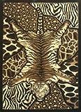 Animal Prints Area Rug 8 Ft. X 10 Ft. #72