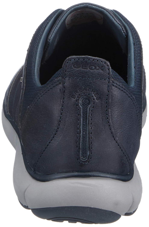 Geox Herren U Nebula B Slip on Sneaker, Braun (Browncotto