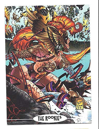 (ANGELA 1994 Image Comics PROMO Card #6 Spawn)