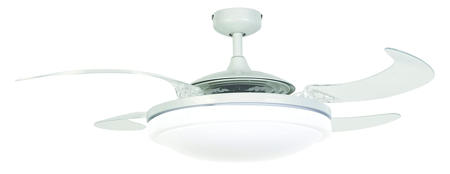 Fanaway 210931 evo2 endure ceiling fan and dimmable led light fanaway 210931 evo2 endure ceiling fan and dimmable led light silver e27 60 watts amazon kitchen home aloadofball Image collections