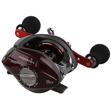 Carretes de pesca - DMK 12BB 6.3:1 Carrete de pesca de tira de cebo