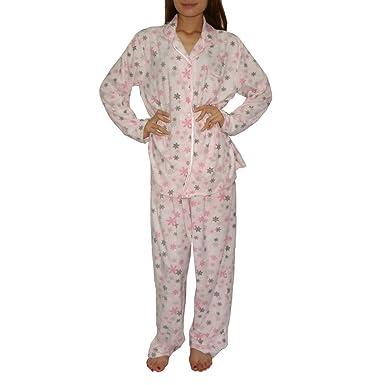 29074b8550c75 2PC SLEEPWEAR SET: Womens Earth Angels Warm Polar Fleece Gorgeous Sleepwear  / Pajama Set -