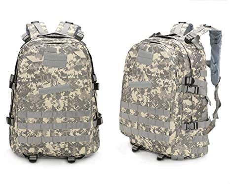 Unafreely 40L Molle 3D Tactical Outdoor Military Rucksack Backpack Bag  Camping Hiking Waterproof (ACU) 7fb4dc678b9d4