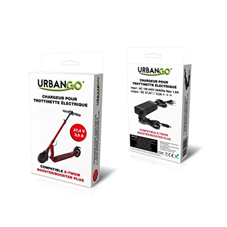 Urbango Cargador para Patinete eléctrico Compatible t-twow ...