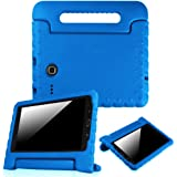Fintie Samsung Galaxy Tab E 8.0 Case - Light Weight Shock Proof Convertible Handle Stand Kids Friendly for Samsung Galaxy Tab E 8-Inch 4G LTE SM-T377 Tablet, Blue