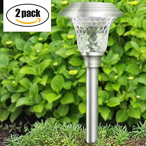 Solar Path Lights With Panel in Florida - 2