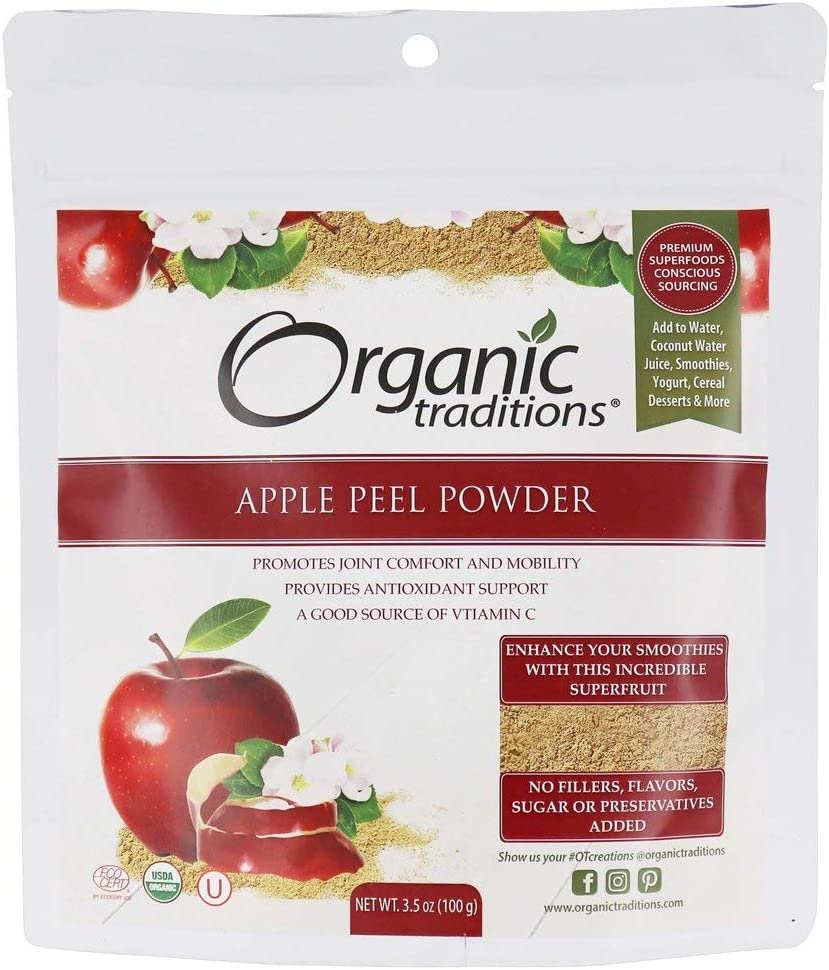 Apple Peel Powder 3.5 Ounce (100 Grams) Pkg