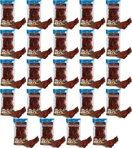 Loving Pets Pure Buffalo Meat Jerky Strips 5.25Lbs (24 x 3.5oz) by Loving Pets