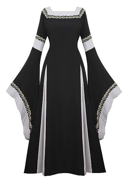 Amazon.com: Disfraz de renacentista para mujer, vestido ...