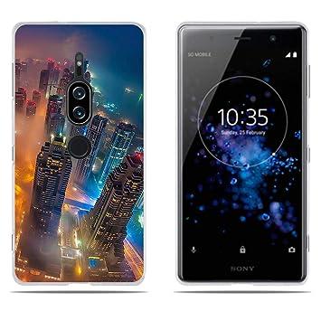 DIKAS para Funda para Sony Xperia XZ2 Premium, Transparente Suave ...