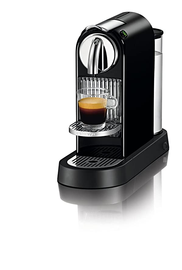Amazon.com: Nespresso D111-US-BK-NE1 Citiz Espresso Maker, Black ...