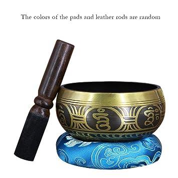 Kalaok Cobre Buddha Sound Bowl Yoga Tibetano Cantando Tazón ...