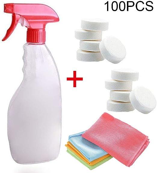 Soulitem Juego de Herramientas de Limpieza para Coche, Spray para ...