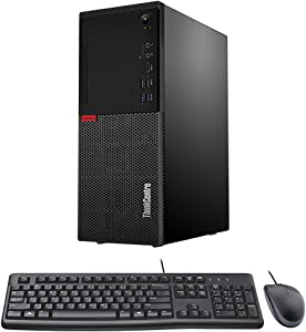 Lenovo ThinkCentre M720t Tower Form Factor Desktop PC with Intel Core i7-8700 6-Core CPU, 32GB DDR4 RAM, 1TB NVMe SSD, Windows 10, Keyboard, Mouse