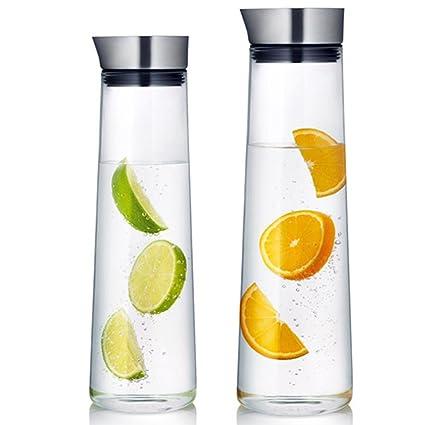 Zumo de vidrio cristal grueso pot _ ollas calentar un vaso de jugo de personalizar _lado