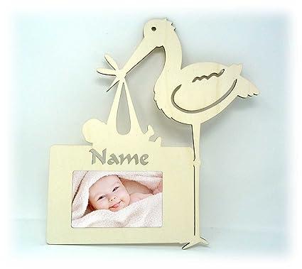 Baby Cigüeña Letrero De Pared Puerta fotos baby de regalos recién ...