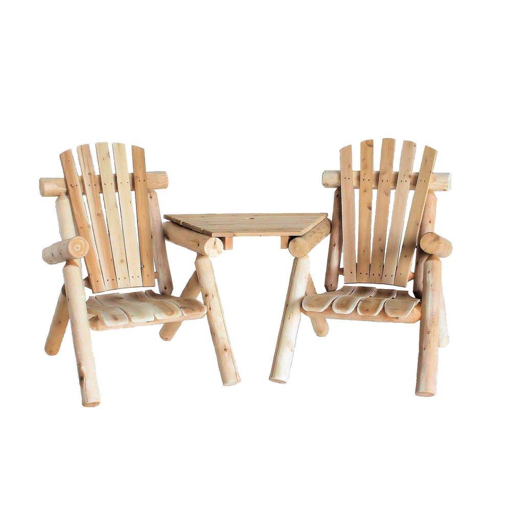 Amazon.com : Lakeland Mills Cedar Log Visa Tete, Natural : Lawn Chairs :  Garden U0026 Outdoor