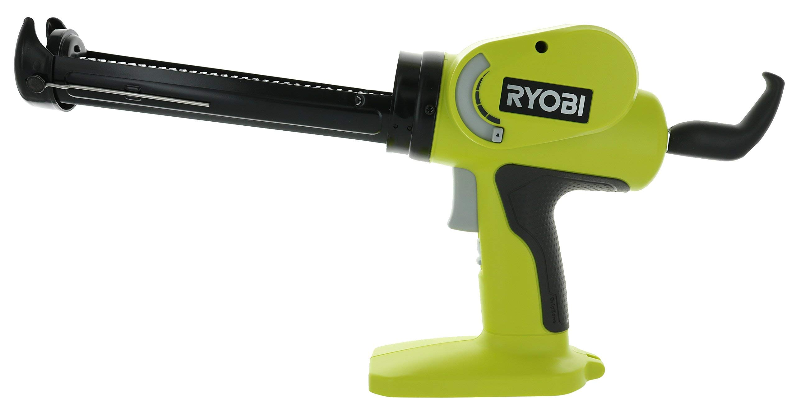 Ryobi P310G 18v Pistol Grip Variable Discharge Rate Power Caulk and Adhesive Gun (Tool Only, Holds 10 Ounce Carriage) (Certified Refurbished)