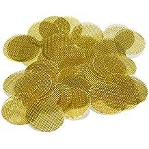 "25 Beamer Premium Brass Screens 0.750"" (3/4"") Inch Size + Limited Edition Beamer Smoke Sticker"