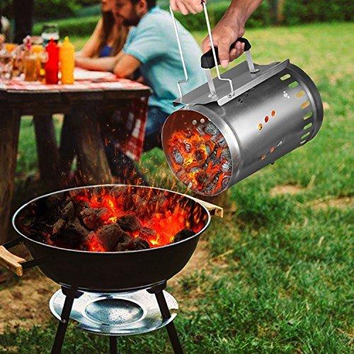 INTEY Encendedor Para Barbacoas O Chimeneas Para Encendedor De Chimenea Para El Entretenimiento Barbacoa R/ápida Disfruta De La Comida