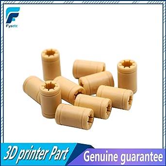 Impresora 3D - 20 piezas de rodamiento de polímero LM8UU - eje de ...