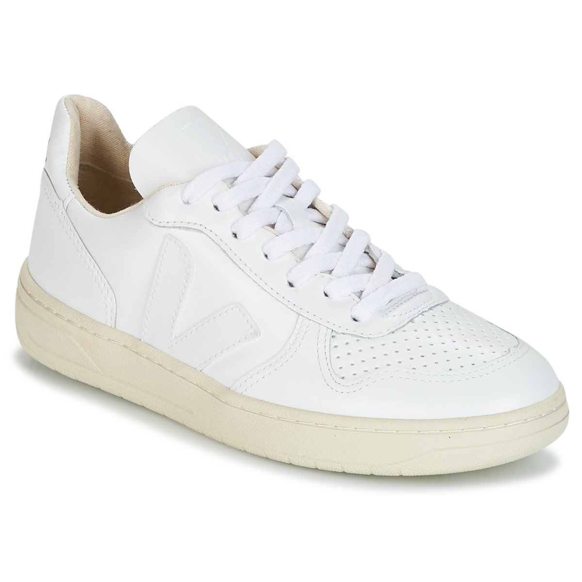 VEJA Mens V-10 Weiss Turnschuhe Low Low Low 44 f3bf04