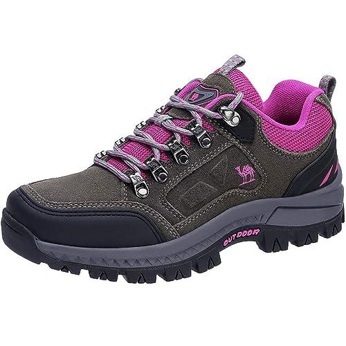 precio atractivo siempre popular mejor sitio web CAMEL CROWN Zapatos de Senderismo para Mujer Zapatillas de ...