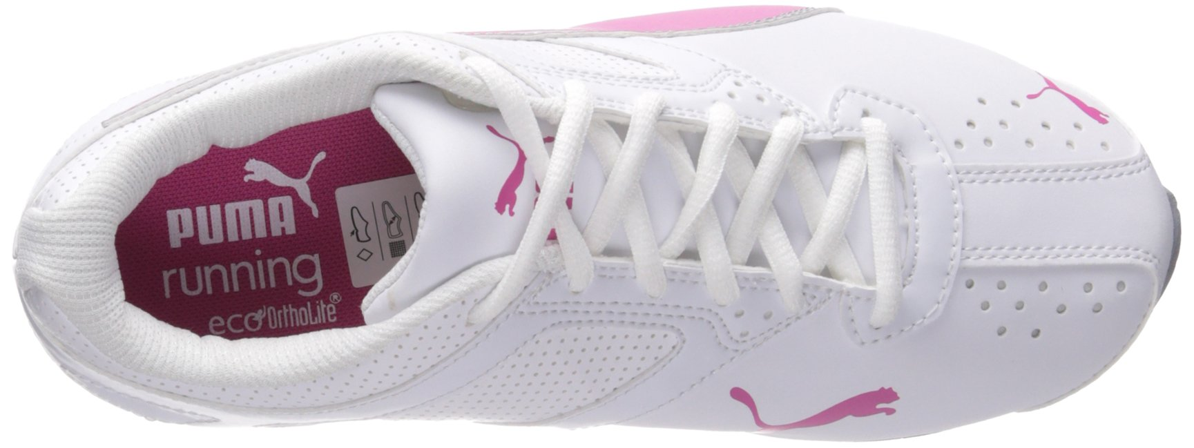 PUMA Women's Tazon 6 WN's fm Cross-Trainer Shoe, White/Fuchsia Purple Silver, 6.5 M US by PUMA (Image #8)