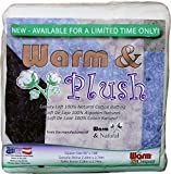 WARM COMPANY 2665 Warm and Plush Cotton Batting, 90 by 108-Inch, Queen