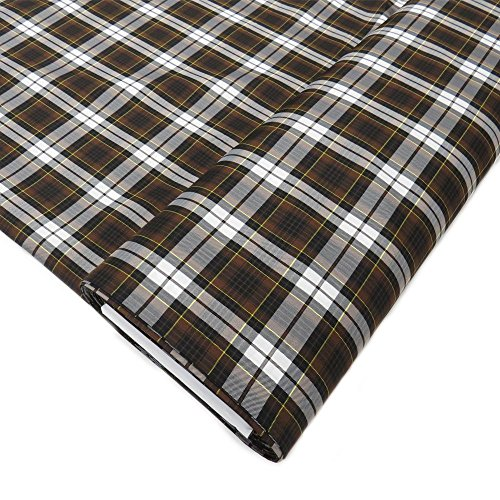 """Uniform Plaid Fabric - 60"""" Wide x 5 Yard Long 
