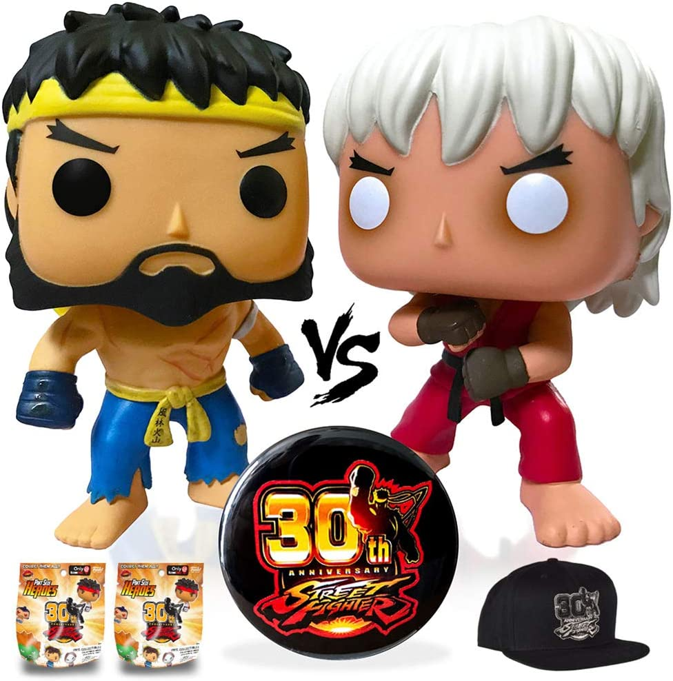 Funko Pint Size Heroes Street Fighter Complete your Collection