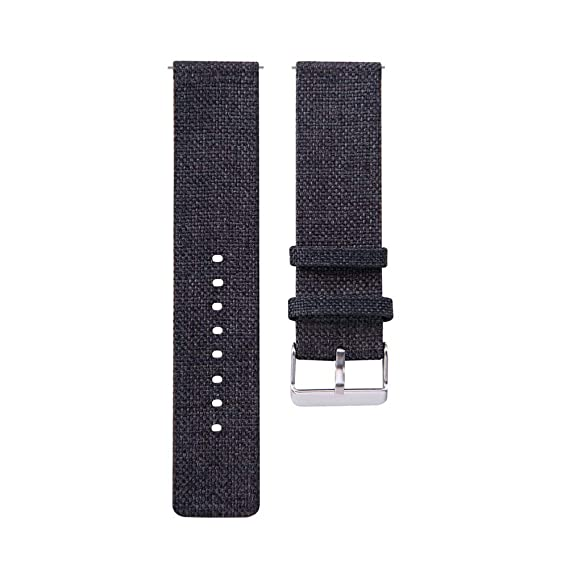 Jewh New Universal 22MM Buckle - Fashion Samsung Watch - Nylon Canvas Watch Band - Wrist