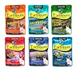 Cheap Earthborn Holistic Grain Free Wet Cat Food Pouches, 6 Flavors, 3-Ounces Each (12 Total Pouches)