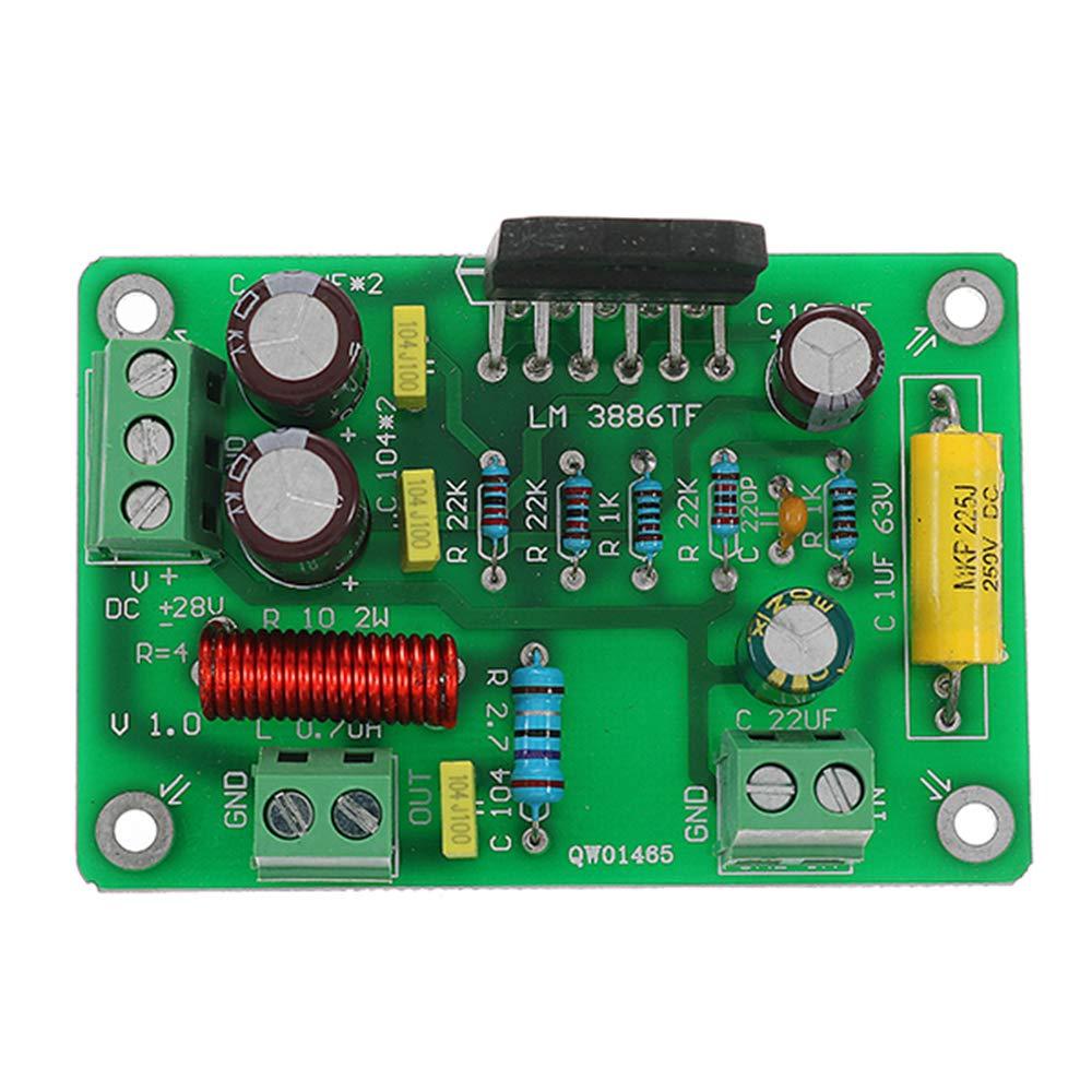 LM3886TF HiFi Mono 4Ω 68W Audio Power Amplifier Board AMP 50W//38W 8Ω Assembled