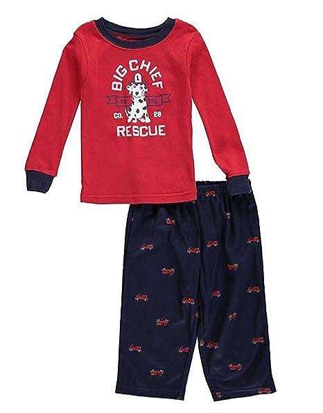 954fbacb922e Amazon.com  Carter s Baby Boys  2-Piece Cotton and Fleece Pajama Set ...