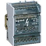 Legrand LEG04886 Répartiteur modulaire monobloc 4P 125 A 11 connexions 6 modules