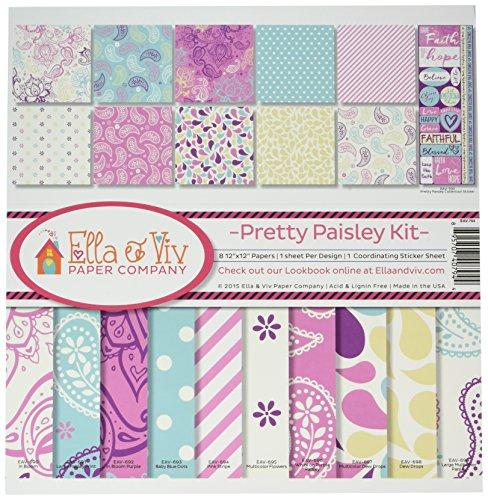 (Reminisce Ella and Viv Pretty Paisley Collection)