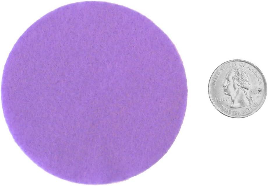 Playfully Ever After Purple Dark Purple White /& Yellow Craft Felt Circles 1.5 Inch - 95pc