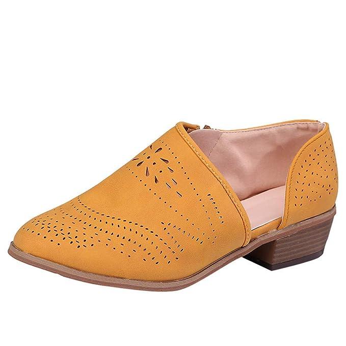 Botines Mujer Invierno Planos Piel Botas de Mujer Martin Botines Cortos Botín Elegantes Zapatos Plataforma Grueso de la Vendimia de Las Mujeres con tacón ...
