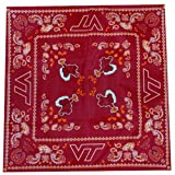 Game Day Outfitters NCAA Virginia Tech Hokies Team Color Bandana