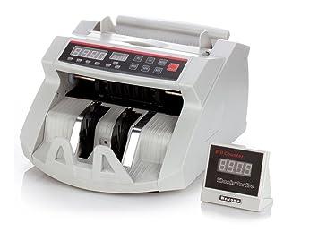 Bill Counter - Máquina para contar dinero con detector de billetes falsos y UV magnético: Amazon.es: Oficina y papelería