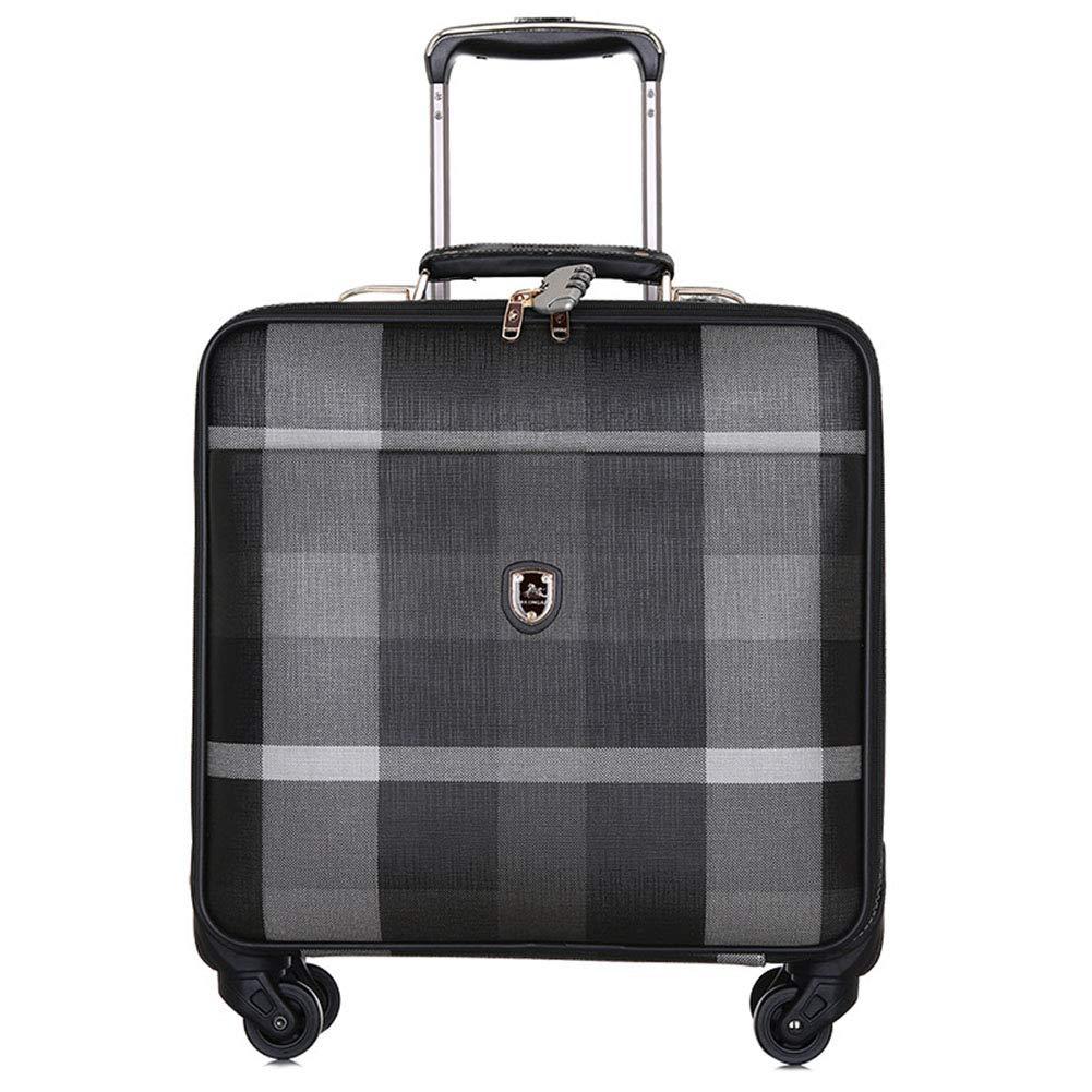 大容量PUスーツケース、新しいファッションエントリーケース、軽量パスワードスーツケース、出張旅行-3 B07TH16YNZ 3